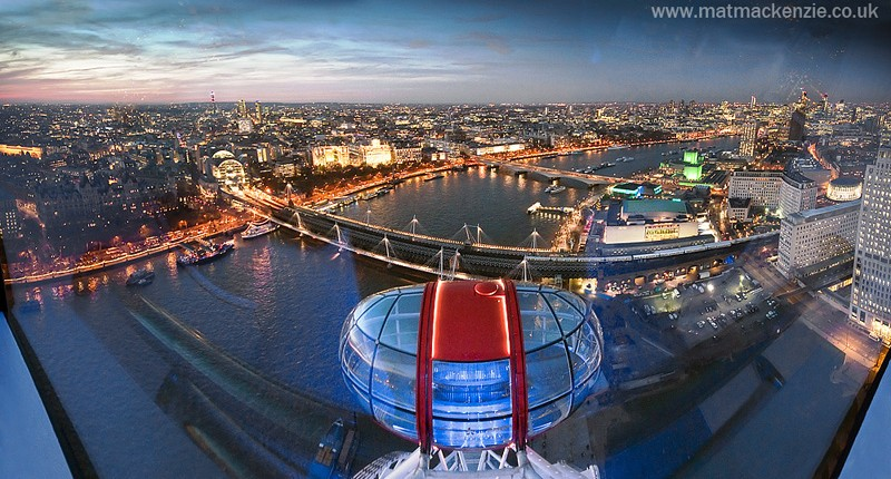 London Eye Panorama