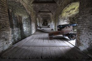 HDR Processing Dover Castle Tunnels
