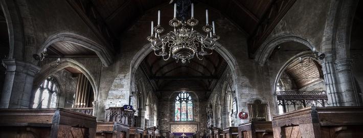 HDR Processing Goudhurst Church
