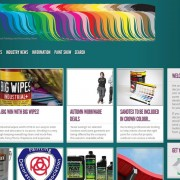 Painting and Decorating News Website Design