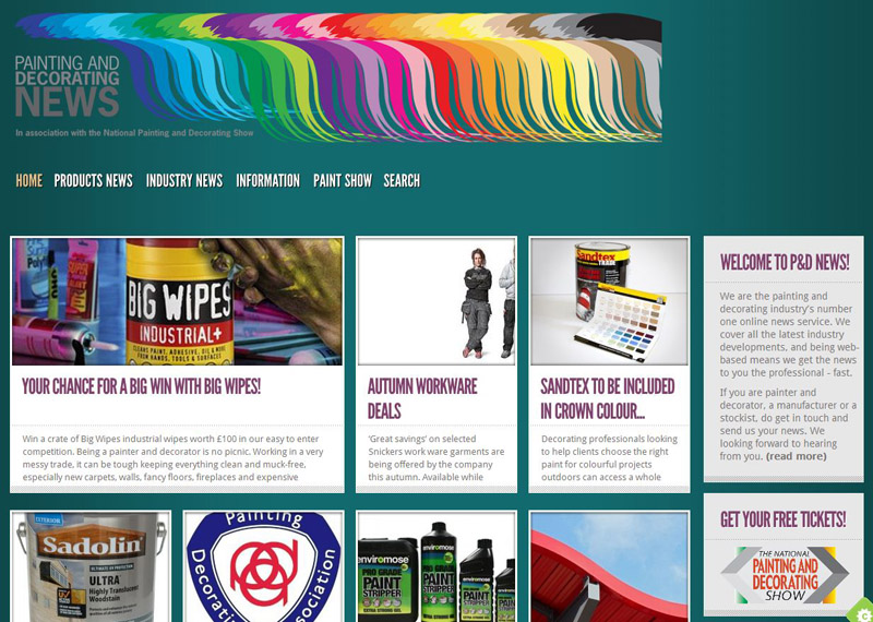 Painting and Decorating News - Mat Mackenzie Creative Technologies