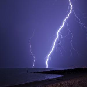 low light photography lightning