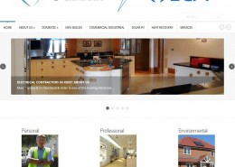 Marc Carney Electrical and Solar website