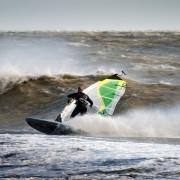 October Storm Windsurfers Windsurfing