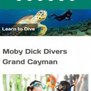 Moby Dick Divers Responsive Website