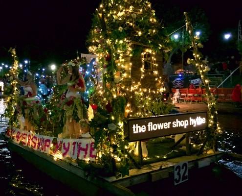 hythe venetian fete 2015 flower shop float