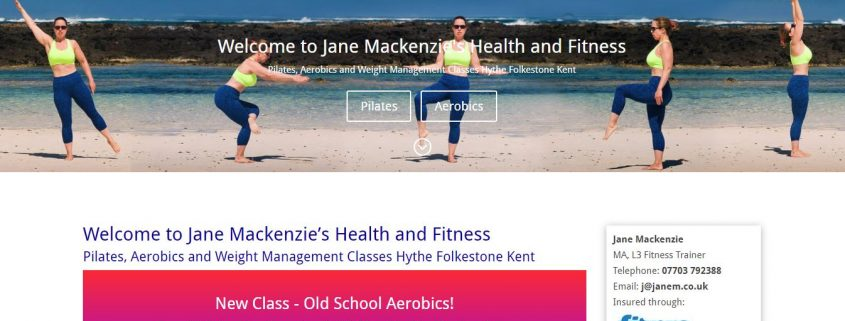 Jane Mackenzie's Health and Fitness